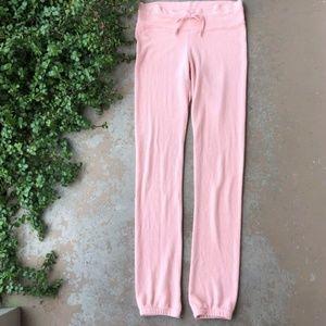 Wildfox Peach Soft Longe Sweatpants Joggers